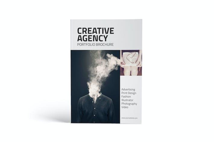 Cover Image For Creative Agency Portfolio Catalog Brochure