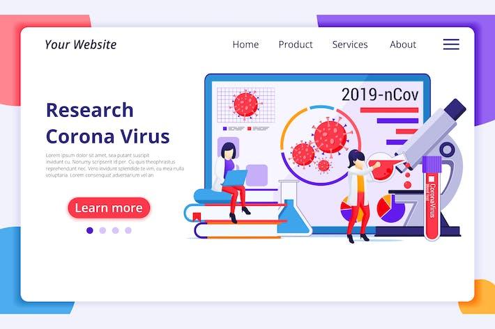 Thumbnail for Agnytemp - Corona Virus Illustration v17