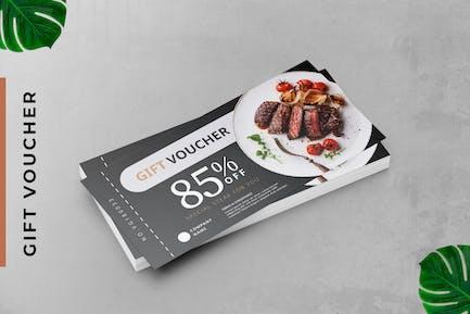 Resto Steak Gutscheinkarte Promotion