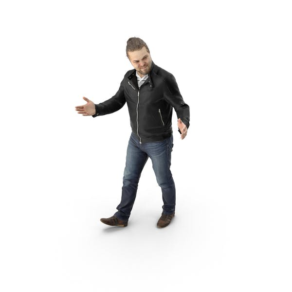 Thumbnail for Man Walking with Open Arms