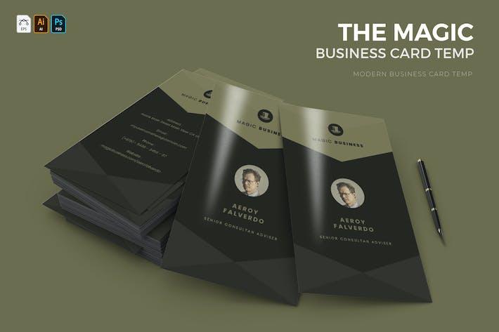 Magic   Business Card