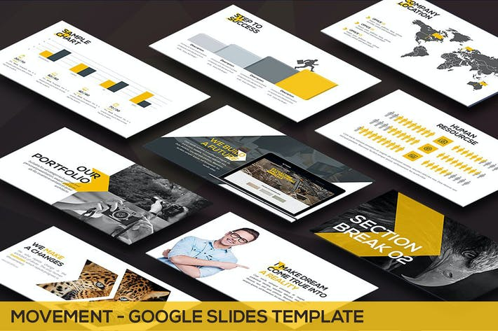 Thumbnail for Movement - Swiss Google Slides Template