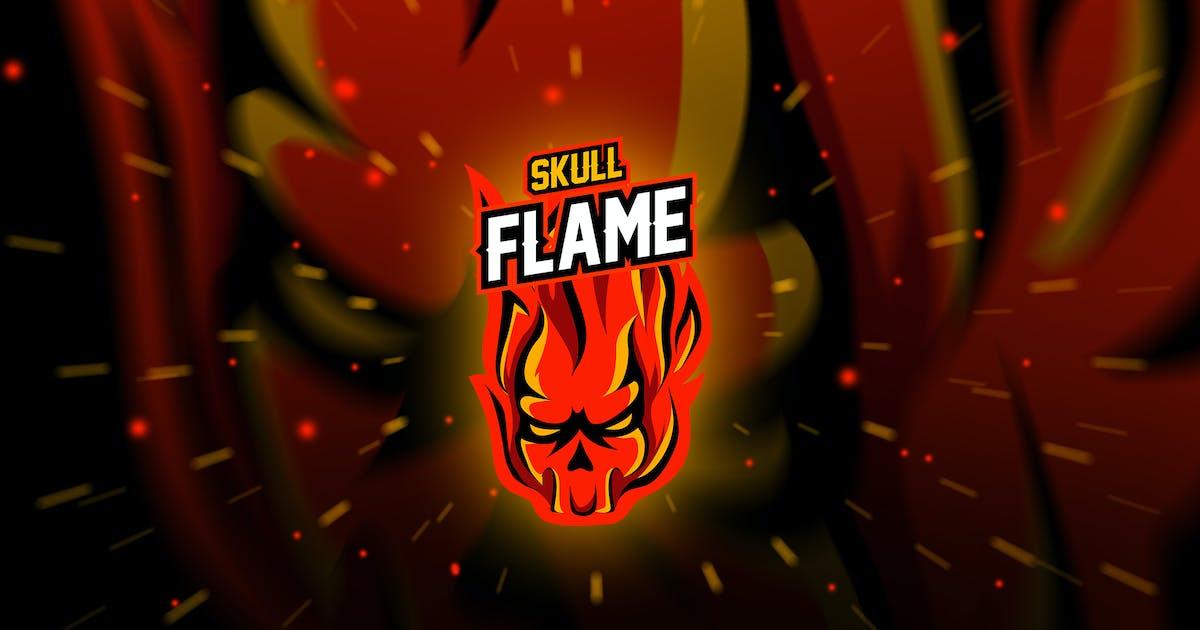 Download skull frame - Mascot & Esport Logo by aqrstudio