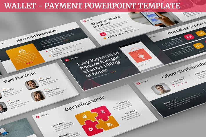 Wallet - Payment Powerpoint Template