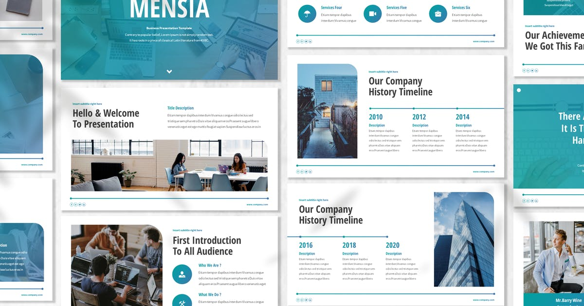 Download Mensia - Business Powerpoint Template by designesto