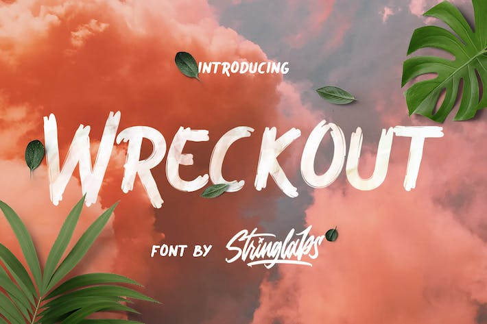 Thumbnail for Wreckout - Fuente de pincel decorativo