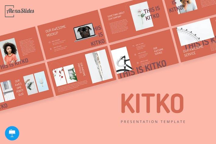 Thumbnail for Kitko - Keynote Presentation Template