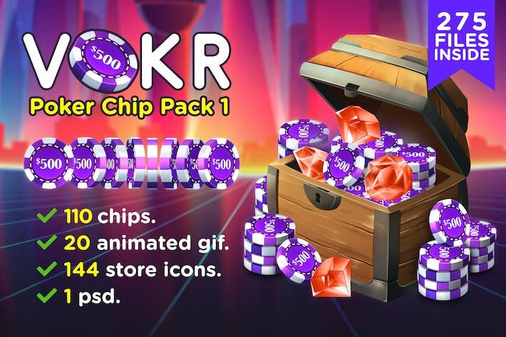 Thumbnail for VOKR - Poker Chip Pack 1