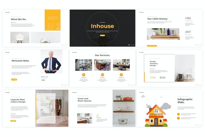Thumbnail for Inhouse - Powerpoint Template