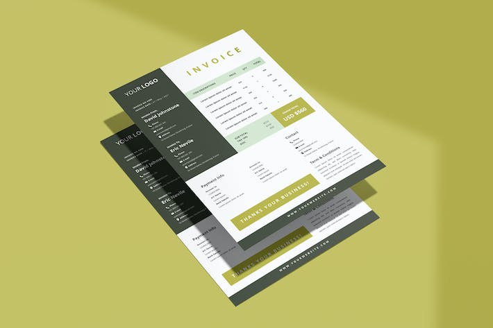 Thumbnail for Invoice Template