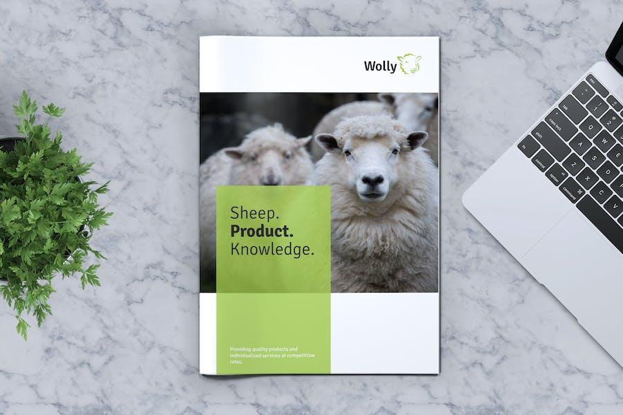Brochure de la ferme de moutons