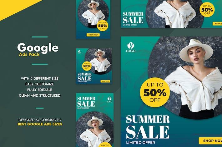 Thumbnail for Google Ads Web Banner Sale