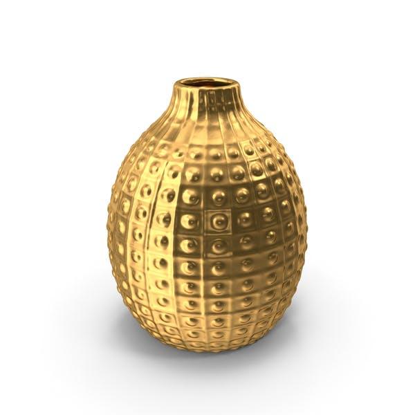 Украшение вазы Золото