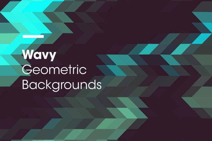 Thumbnail for Wavy | Geometric Backgrounds