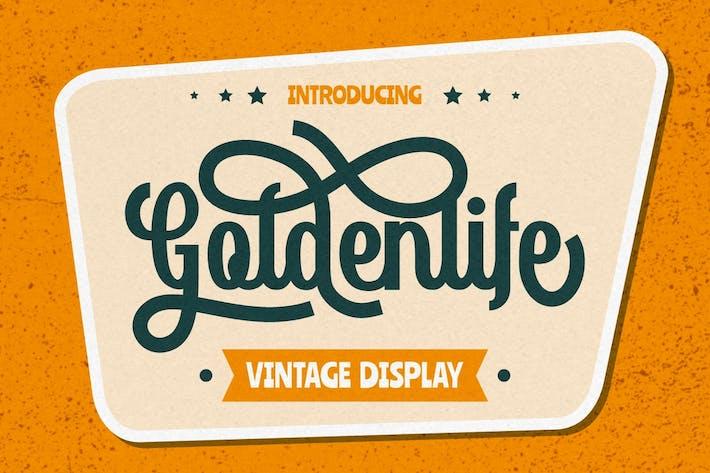 Thumbnail for Goldenlife - Vintage Display