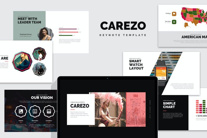 Thumbnail for Carezo : Creative Agency Studio Keynote