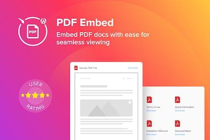 WordPress PDF Einbetten - Viewer Plugin