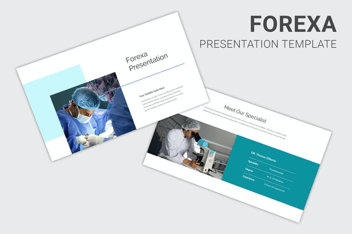 Forexa - Medical Business Profile Keynote