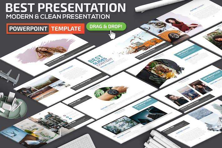 Thumbnail for Лучший Шаблон презентации Powerpoint