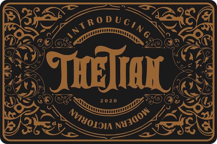 Thumbnail for Thetian | Fuente victoriana moderna
