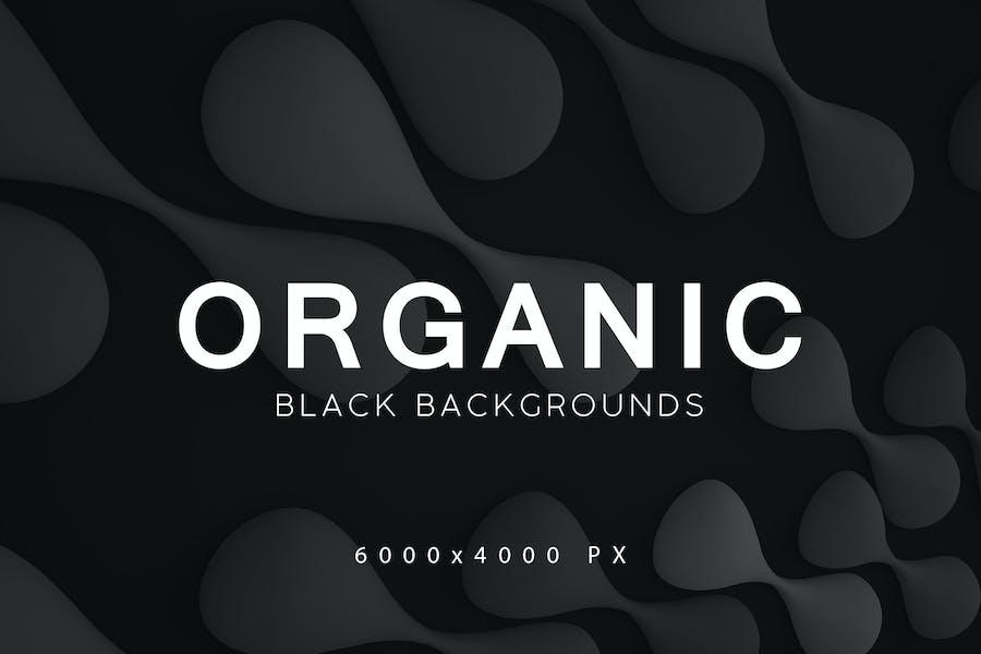 Black Organic Backgrounds 3