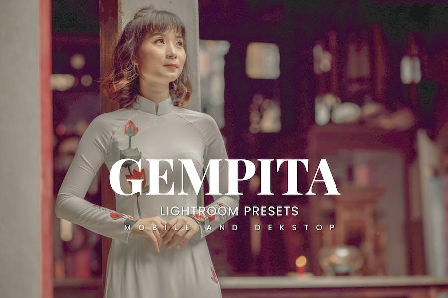 Gempita Lightroom Presets Dekstop and Mobile