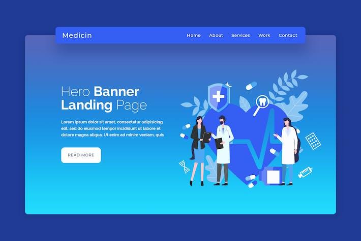 Medicine - Hero Banner Template