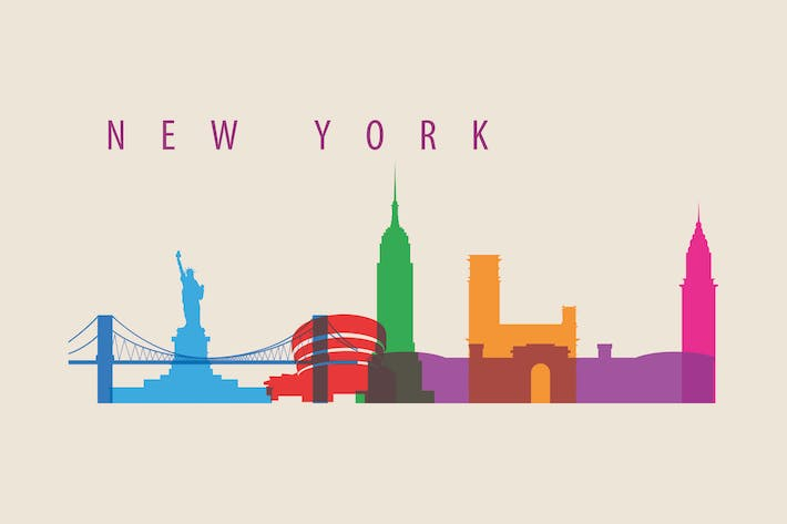 Thumbnail for New York City, Skyline USA