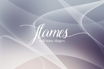 Flame Shapes Backgrounds