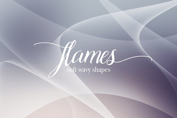 Cover Image For Flame Shapes Backgrounds