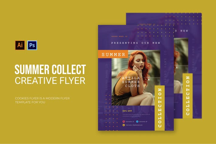 Thumbnail for Summer Collection - Flyer
