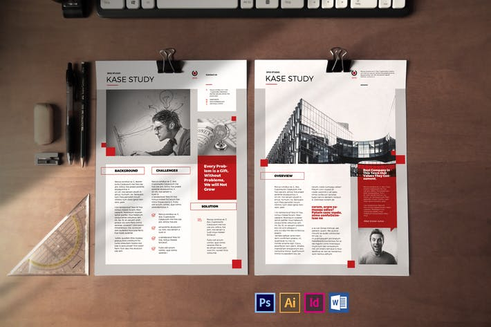 Thumbnail for Case Study Template Vol.3