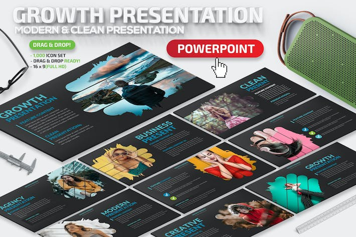 Thumbnail for Growth Powerpoint Presentation