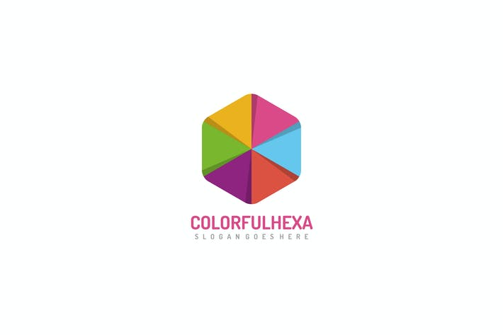 Thumbnail for Colorful Hexagon Logo