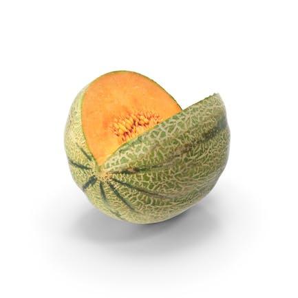 Cantaloupe-Schnitt