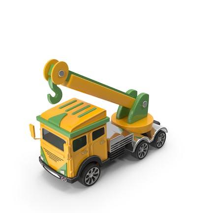 Cartoon Truck Crane