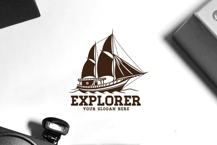 Explorer Ship Logo