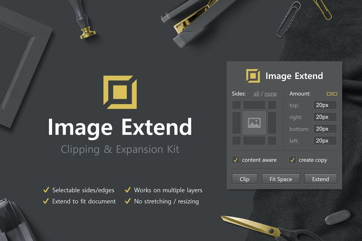 Thumbnail for Image Extend - Clipping & Expansion Kit