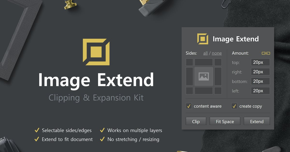 Download Image Extend - Clipping & Expansion Kit by h3-design