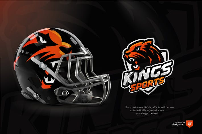 Cover Image For King Lion Sports Logo