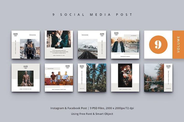Thumbnail for Social Medios de comunicación Post Vol. 9