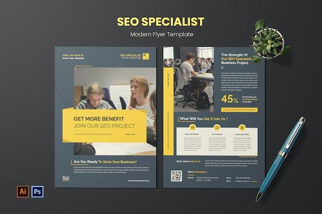 SEO Specialist Flyer