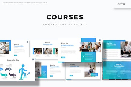 Courses - Powerpoint Template