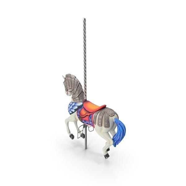 Thumbnail for Carousel Horse White