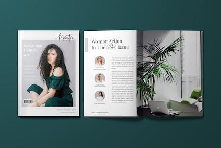 Weibliches Magazin