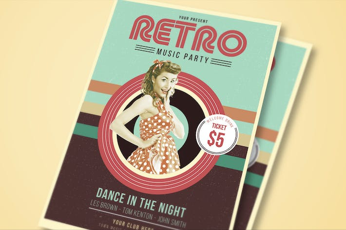 Thumbnail for Retro Party Flyer