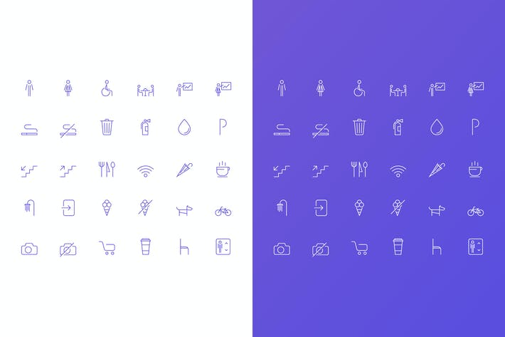 Thumbnail for Simple Vector Icons Set for Сafe