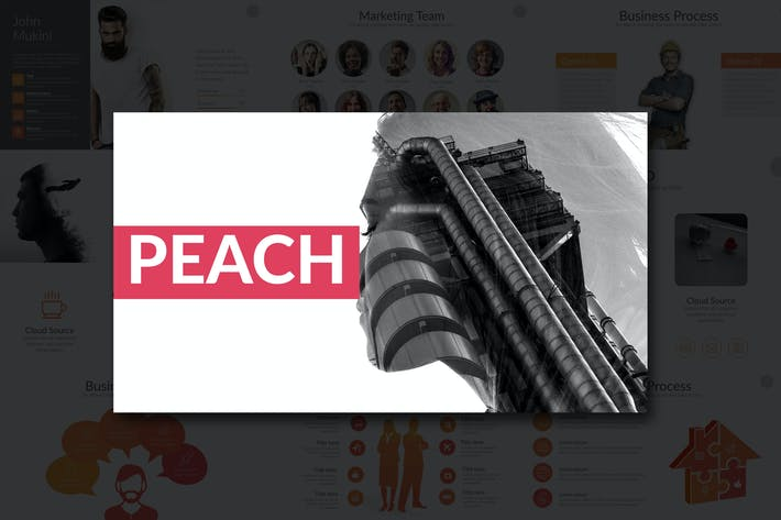 Thumbnail for PEACH Google Slides