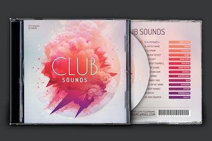 Club Sounds CD Cover Artwork