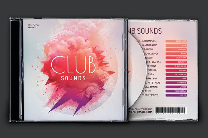 Thumbnail for Club Sounds CD Cover Artwork